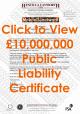 Click to open £10M Public Liability (PLI) Document for Simon Mawby